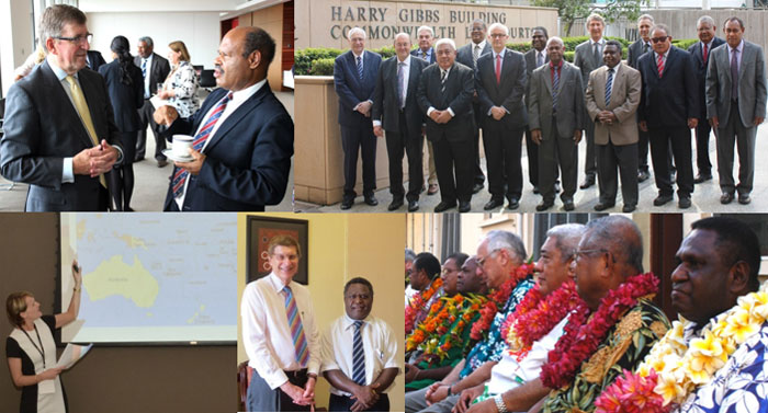 Work with international judiciaries past program photos